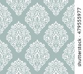 damask floral seamless... | Shutterstock .eps vector #479555977