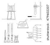 lab equipment | Shutterstock .eps vector #479602207