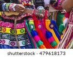 peruvian dancers at the parade... | Shutterstock . vector #479618173
