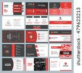 business card templates.... | Shutterstock .eps vector #479623213