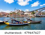 douro river and traditional... | Shutterstock . vector #479647627