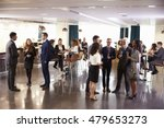 delegates networking at... | Shutterstock . vector #479653273