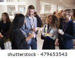 delegates networking during... | Shutterstock . vector #479653543