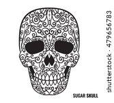 day of the dead sugar skull... | Shutterstock .eps vector #479656783