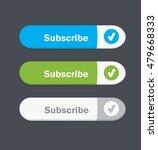set of vector web interface... | Shutterstock .eps vector #479668333