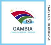 gambia travel  discover ... | Shutterstock .eps vector #479673967