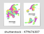 abstract vector layout... | Shutterstock .eps vector #479676307