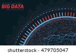 big data visualization.... | Shutterstock .eps vector #479705047