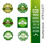 fresh badge label seal stamp... | Shutterstock .eps vector #479711377