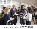 delegates networking during...   Shutterstock . vector #479733907