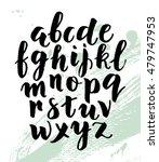 modern hand written calligraphy ... | Shutterstock .eps vector #479747953