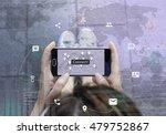 connectivity concept. woman... | Shutterstock . vector #479752867