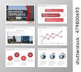 set of red template for...   Shutterstock .eps vector #479800693