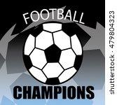 champion sports league logo ... | Shutterstock .eps vector #479804323