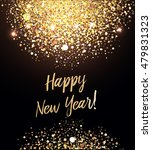 happy new year card with... | Shutterstock .eps vector #479831323