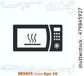home appliances icon. microwave ...   Shutterstock .eps vector #479845927