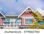the top of the house or... | Shutterstock . vector #479860783