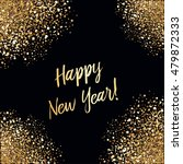 happy new year card with... | Shutterstock .eps vector #479872333