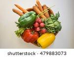 assortment of  vegetables | Shutterstock . vector #479883073