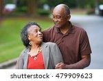 Elderly African American Man...