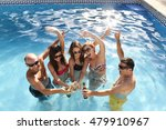 group of friends young happy... | Shutterstock . vector #479910967