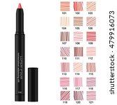 cosmetic pencils. set of... | Shutterstock .eps vector #479916073