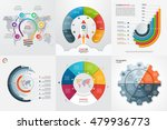 set of six infographic 6... | Shutterstock .eps vector #479936773