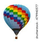 hot air balloon isolated on... | Shutterstock . vector #479940577