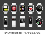 smart watches | Shutterstock .eps vector #479982703