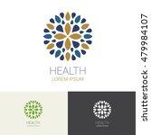 flower spa healthy yoga hotel...   Shutterstock .eps vector #479984107