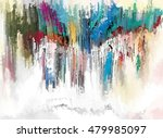 Abstract Painting Texture For...