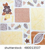 Small photo of tiles abstract background ceramic surface object industry.