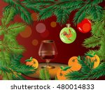 greeting card for the new year. ...   Shutterstock .eps vector #480014833