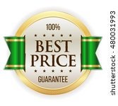 gold best price badge   button... | Shutterstock .eps vector #480031993