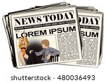 stock illustration. people in... | Shutterstock .eps vector #480036493