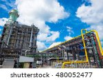 combine cycle power plant... | Shutterstock . vector #480052477