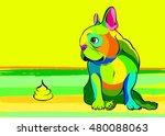 dog  vector  breed  cute  pet ...   Shutterstock .eps vector #480088063