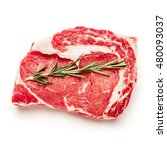 uncooked organic shin of beef... | Shutterstock . vector #480093037