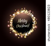 merry christmas greeting card...   Shutterstock .eps vector #480123823