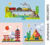modern flat design conceptual... | Shutterstock .eps vector #480128893