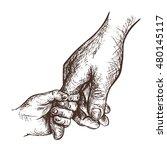 hand drawn vector sketch of... | Shutterstock .eps vector #480145117