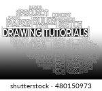 drawing tutorials indicating...   Shutterstock . vector #480150973