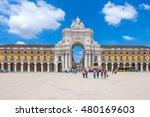 lisbon  portugal   june 24 ...   Shutterstock . vector #480169603