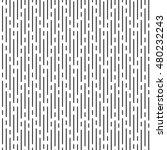 vector monochrome seamless... | Shutterstock .eps vector #480232243