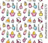 hand drawn seamless pattern... | Shutterstock .eps vector #480353173