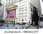 new york  ny  august 27  2016 ... | Shutterstock . vector #480361297