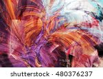 abstract beautiful multicolor... | Shutterstock . vector #480376237