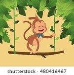 jungle monkey cartoon