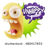 3d rendering angry character... | Shutterstock . vector #480417853