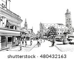 germany. munich. hand drawn... | Shutterstock .eps vector #480432163